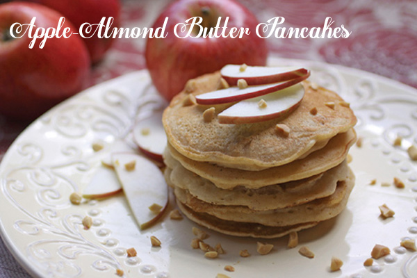 Apple Almond Pancakes
