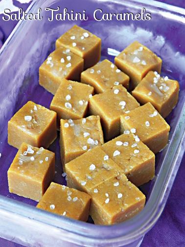 Salted Tahini Caramels