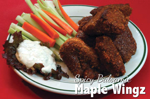 Spicy Balsamic Maple Wingz