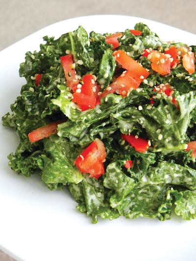 07 kale-tahini salad 2 E