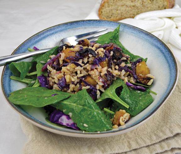 Autumn Whole Grain Salad LoRes