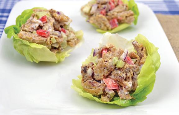 Vegan Chicken-Free Salad Sandwiches
