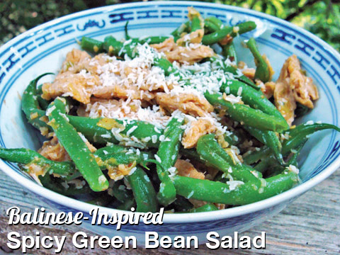 Balinese-Inspired Spicy Green Bean Salad