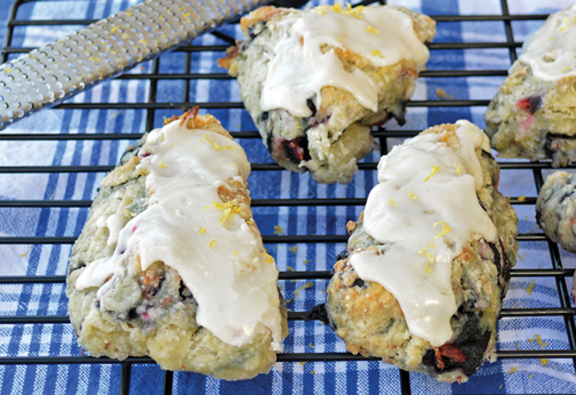 Blueberry Scones LoRes