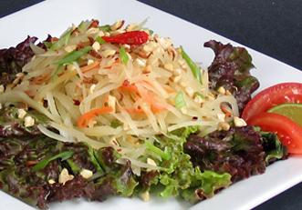 green papaya salad weight loss