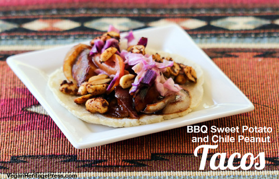 BBQ Sweet Potato Tacos