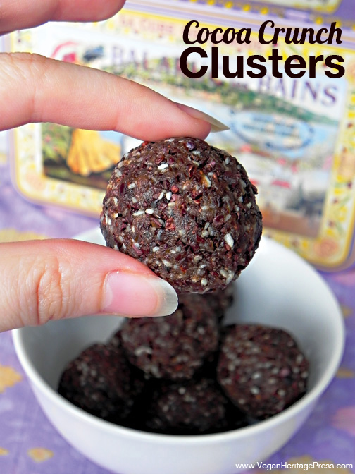 Cocoa Crunch Clusters