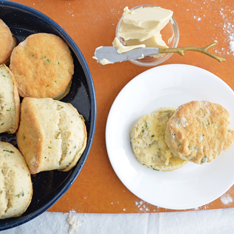 Vegan Flaky Buttermilk Herb Biscuits | Vegan Heritage Press