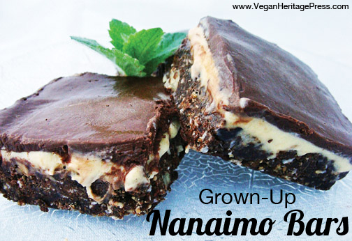Grown Up Nanaimo Bars