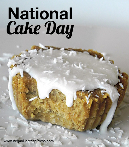 Vegan Cake for National Cake Day