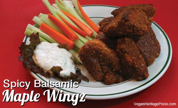 Spicy Balsamic Maple Wingz Super Bowl