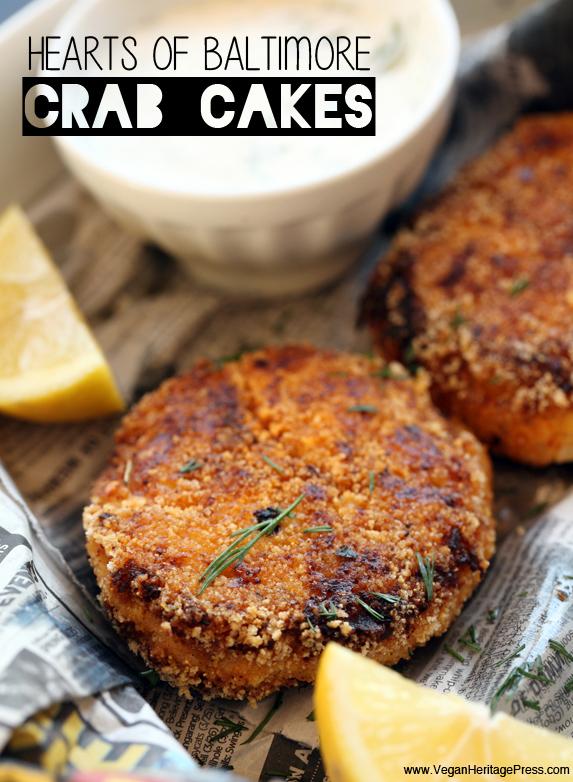 Vegan Hearts of Baltimore Crab Cakes - Vegan Heritage Press