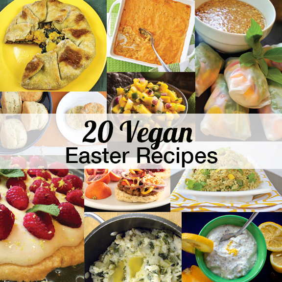 20 Vegan Easter Recipes