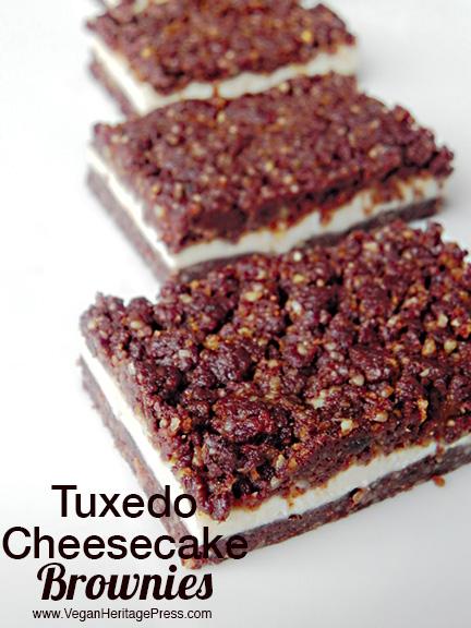 Tuxedo Cheesecake Brownies