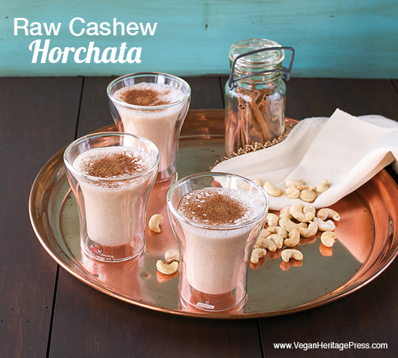 Vegan Raw Cashew Horchata from The Abundance Diet by Somer McCowan