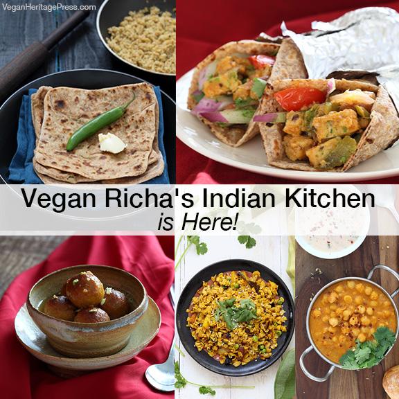 Vegan Richa's Indian Kitchen Is Here!
