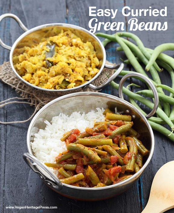 Easy Curried Green Beans