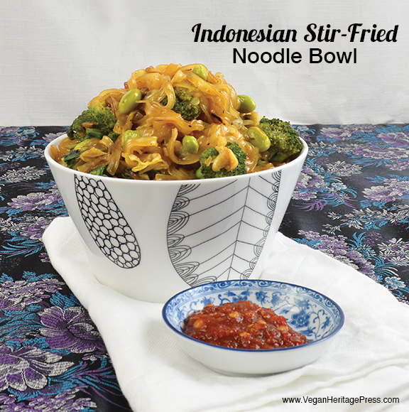 Indonesian Stir-Fried Noodle Bowl
