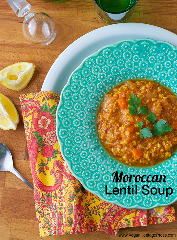 Moroccan Lentil Soup from The Abundance Diet by Somer McCowan