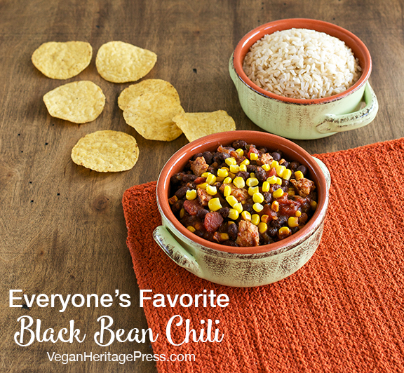 Everyone's Favorite Black Bean Chili