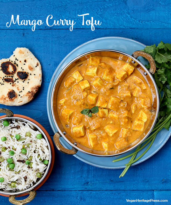 Mango Curry Tofu from Vegan Richa's Indian Kitchen by Richa Hingle