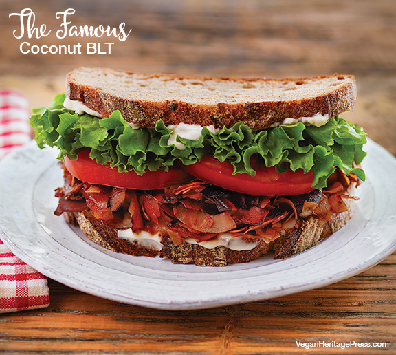 The Famous Coconut Bacon BLT