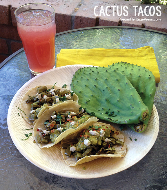 Cactus Tacos from Vegan Tacos by Jason Wyrick