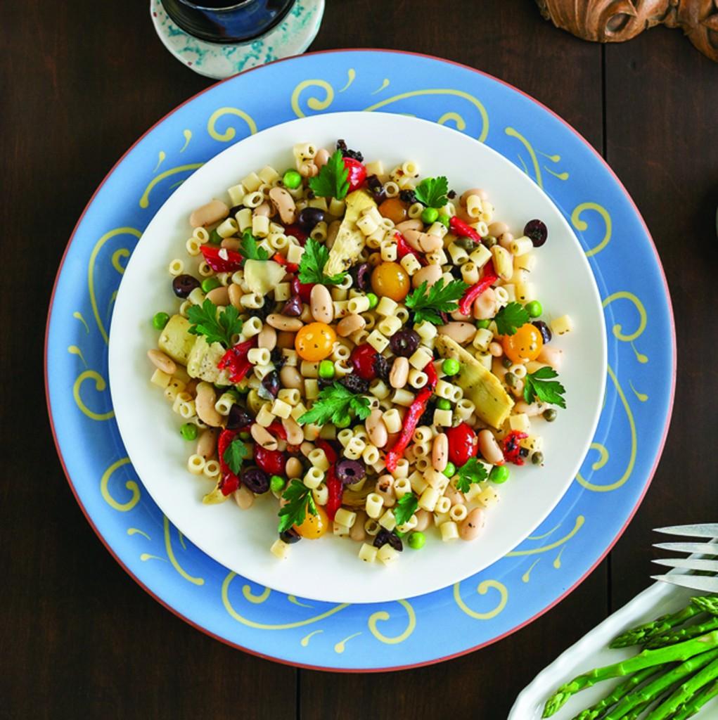 Pantry Pasta Salad | Vegan Heritage Press