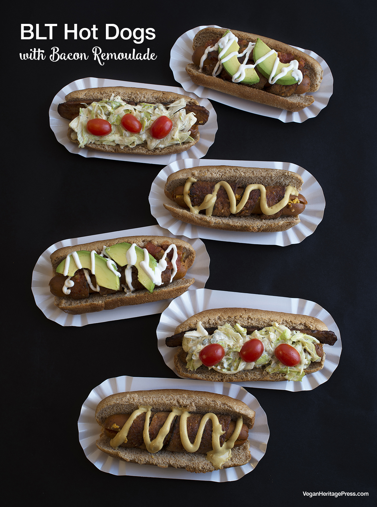 BLT Hot Dogs with Bacon Remoulade from Baconish by Leinana Two Moons