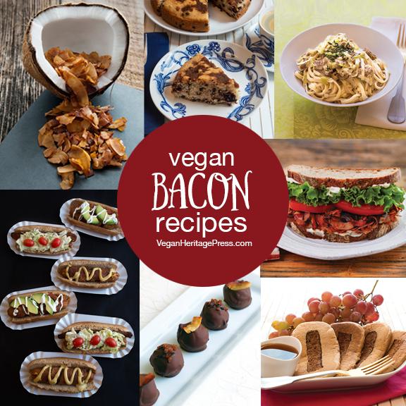 7 Vegan Bacon Recipes from Baconish by Leinana Two Moons