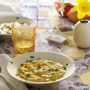 Cheesiest Potato Soup from The Abundance Diet by Somer McCowan