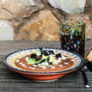 Tomato Black Bean Soup from Vegan Mexico by Jason Wyrick