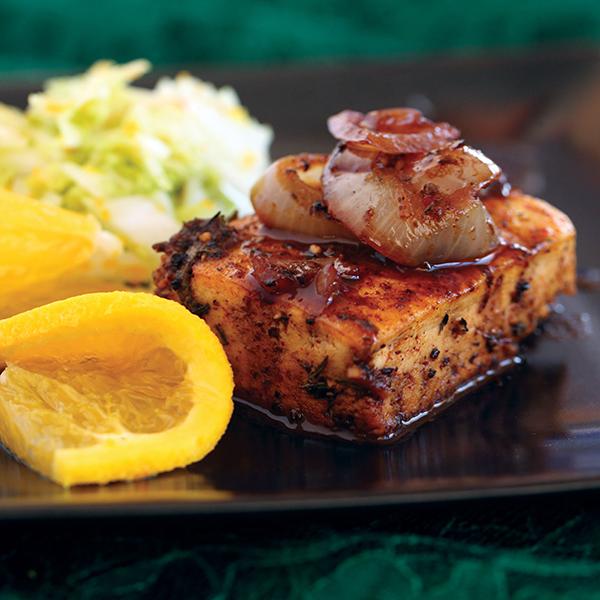 Fillet de soy with blood orange napa cabbage slaw vegan for Whiting fish fillet