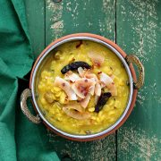 Split Pea Soup with Spices and Coconut from Vegan Richa's Indian Kitchen by Richa Hingle