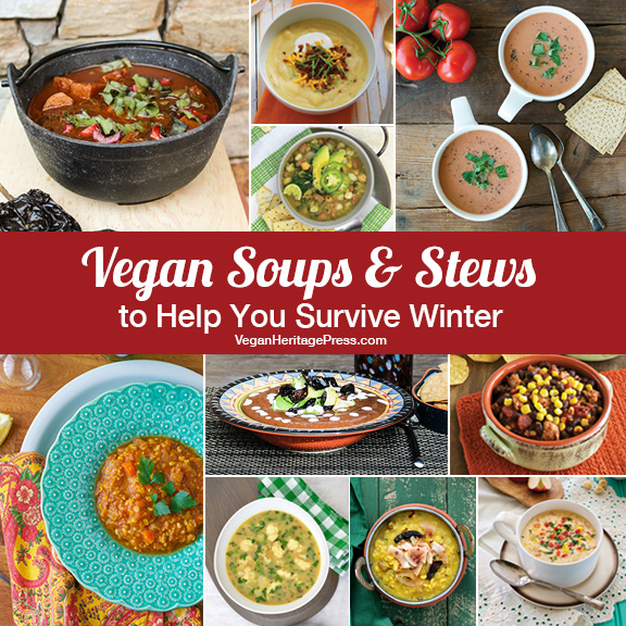 Vegan Soups and Stews to Help You Survive Winter
