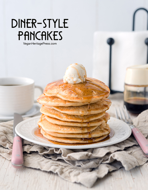 Diner-Style Pancakes from NYC Vegan by Michael Suchman and Ethan Ciment