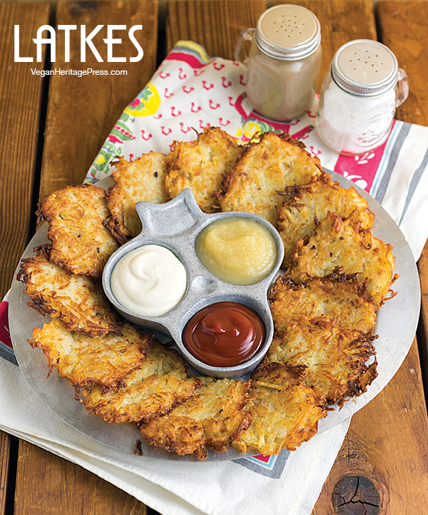 Latkes from NYC Vegan by Michael Suchman and Ethan Ciment