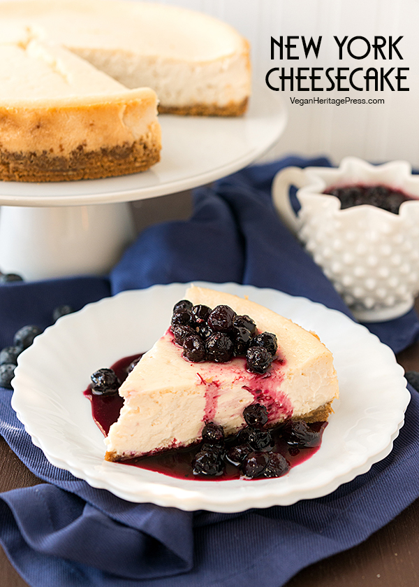 New York Cheesecake from NYC Vegan by Michael Suchman and Ethan Ciment