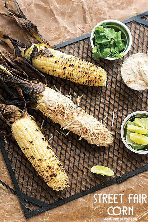 Street Fair Corn from NYC Vegan by Michael Suchman and Ethan Ciment