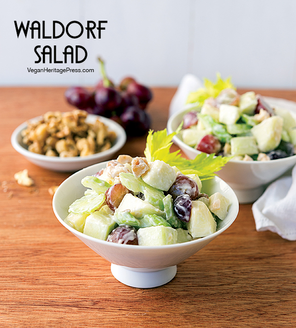 Waldorf Salad from NYC Vegan by Michael Suchman and Ethan Ciment