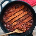 Vegan Smoky Barbecue-Bacon Baked Beans from Baconish by Leinana Two Moons