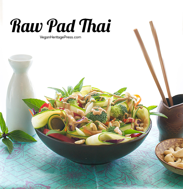 Raw Pad Thai from The Abundance Diet by Somer McCowan
