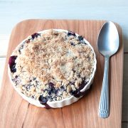 Fruit Crumble from The Vegan Air Fryer by JL Fields