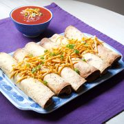 Beany Jackfruit Taquitos from The Vegan Air Fryer by JL Fields