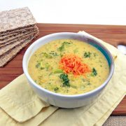 Vegan Broccoli and Cheese Soup