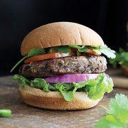 Easiest Black Bean Burgers from Vegan Richa's Everyday Kitchen by Richa Hingle