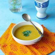 Cozy Roasted Butternut Soup from The Abundance Diet by Somer McCowan
