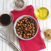 Vegan Roasted Chickpea Bacon from Baconish by Leinana Two Moons