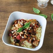 Vegan Kitchen-Sink Capellini from Cook the Pantry by Robin Robertson