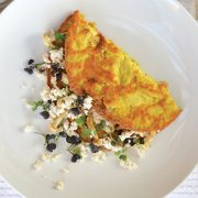 Fried Vegan Omelet from Everyday Vegan Eats by Zsu Dever